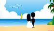 婚礼大屏幕爱情故事动画