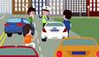 交通事故处理动画